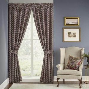 """2 panels Margaux Curtains by Croscill 84'x84"""""""
